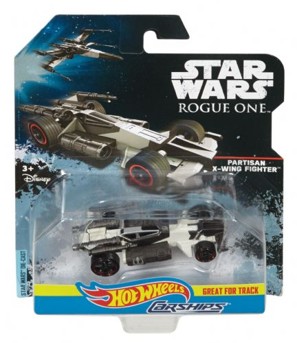 Star Wars Hot Wheels Partisan X-Wing Fighter